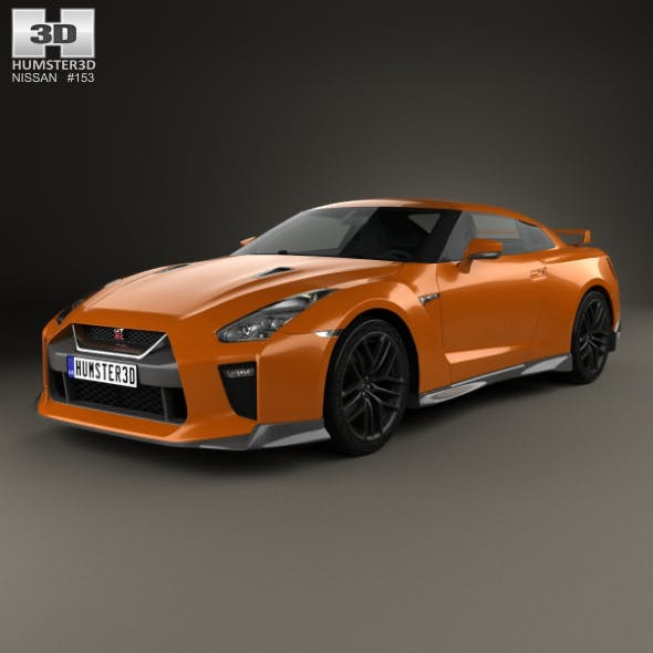 Nissan GT-R 2017 - 3DOcean Item for Sale