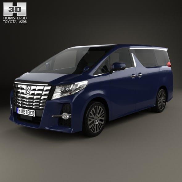 Toyota Alphard 2015 - 3DOcean Item for Sale
