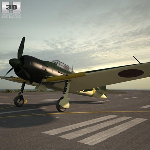 Mitsubishi A6M Zero - 3DOcean Item for Sale