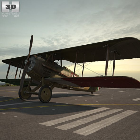 SPAD S.XIII - 3DOcean Item for Sale