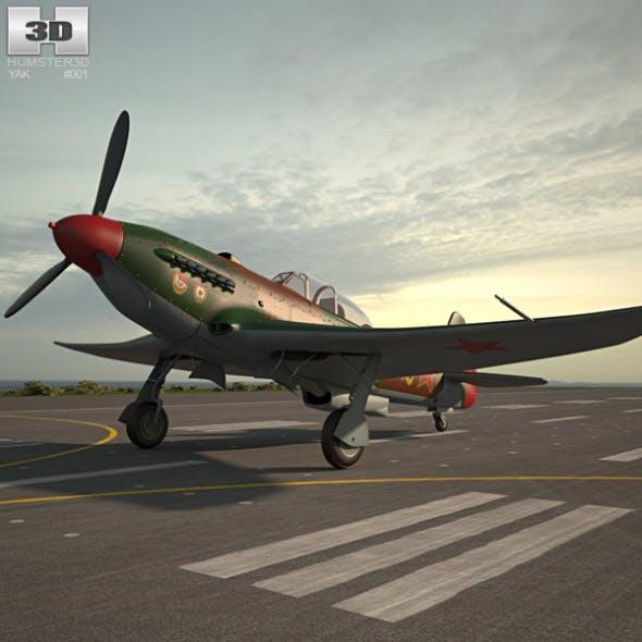 Yakovlev Yak-9 - 3DOcean Item for Sale