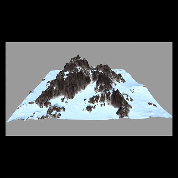 Snow_Mountain - 3DOcean Item for Sale