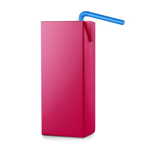 Tetrapark juice pack 3D model - 3DOcean Item for Sale