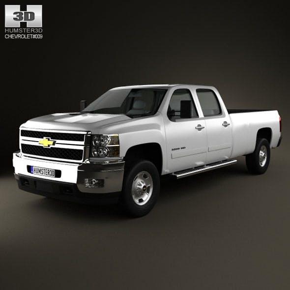 Chevrolet Silverado 3500HD 2011 - 3DOcean Item for Sale
