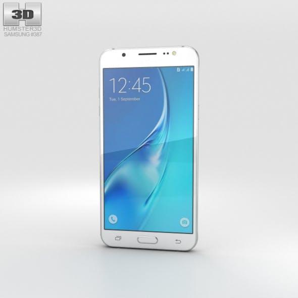 Samsung Galaxy J5 (2016) White - 3DOcean Item for Sale