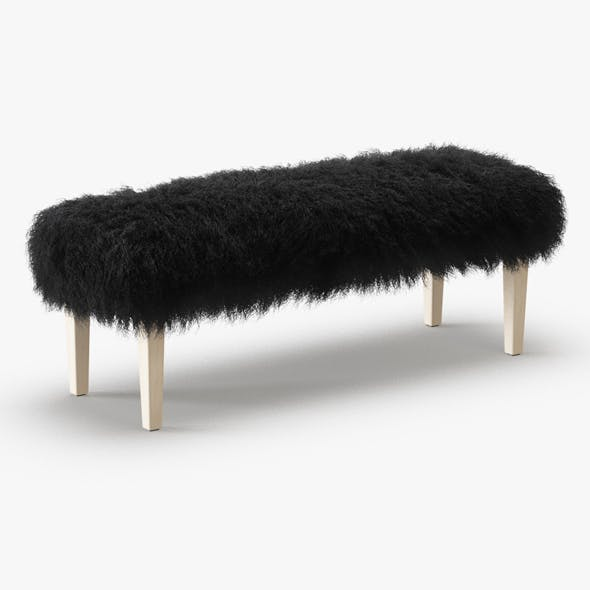 Tibetan Lamb Bench - 3DOcean Item for Sale