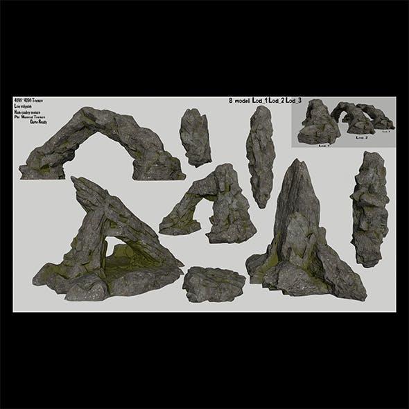 rocks set 1 - 3DOcean Item for Sale