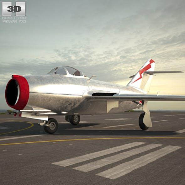 Mikoyan-Gurevich MiG-15 - 3DOcean Item for Sale