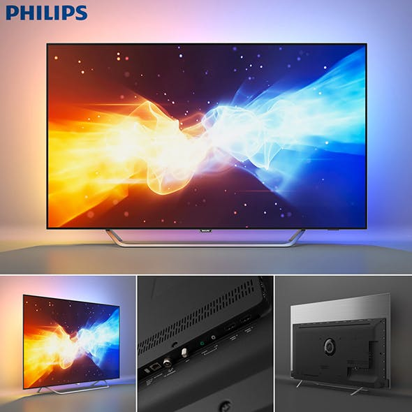 PHILIPS 4K OLED TV 9000 series | 55POS9002/12 - 3DOcean Item for Sale