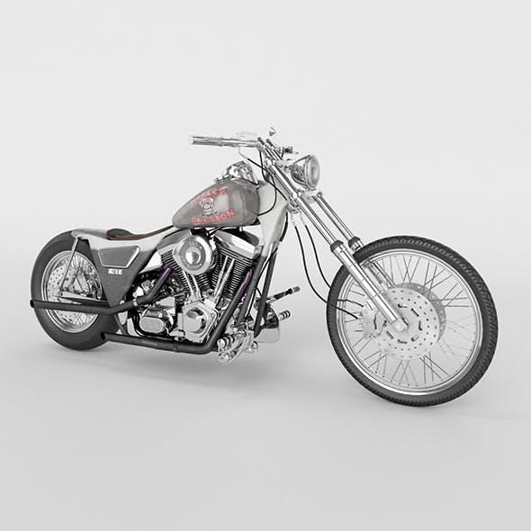 Harley Davidson FXR 1989 Custom - 3DOcean Item for Sale