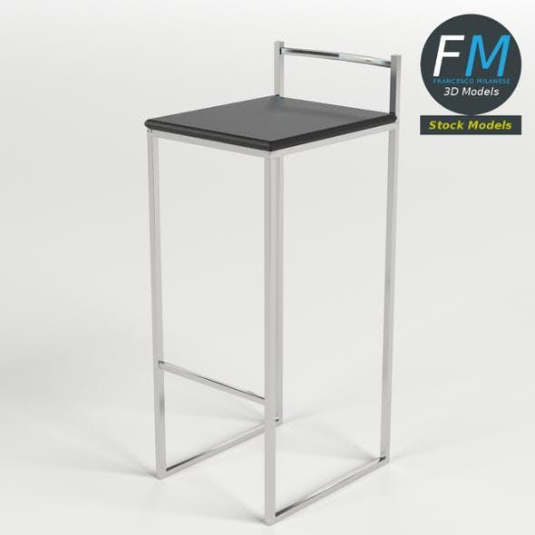 Bar Stool 2 - 3DOcean Item for Sale