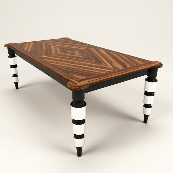 Fishbone table
