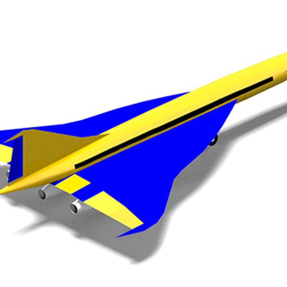 Aircraft Supersonic Concept
