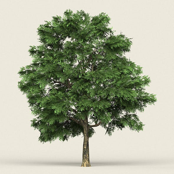 Game Ready Forest Tree 03