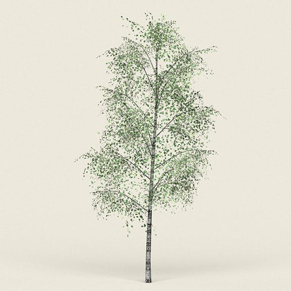 Game Ready Forest Tree 08 - 3DOcean Item for Sale