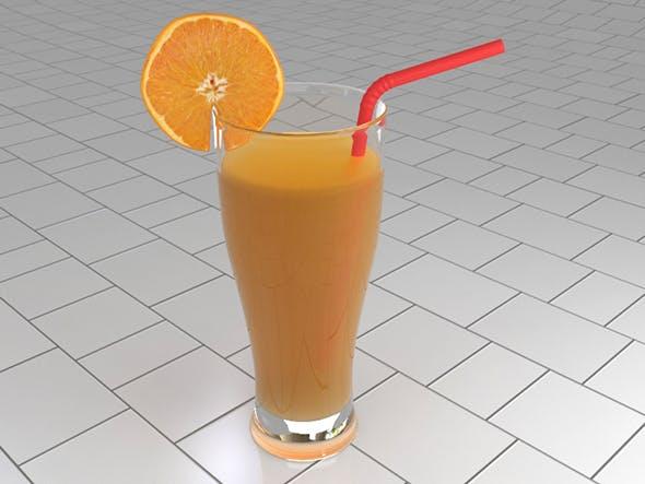 Orange juice - 3DOcean Item for Sale