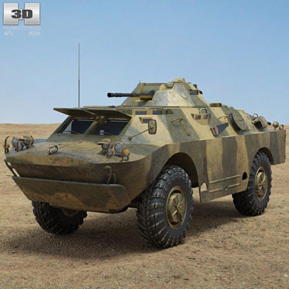 BRDM-2 - 3DOcean Item for Sale