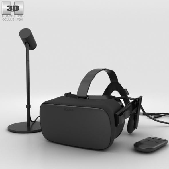 Oculus Rift - 3DOcean Item for Sale
