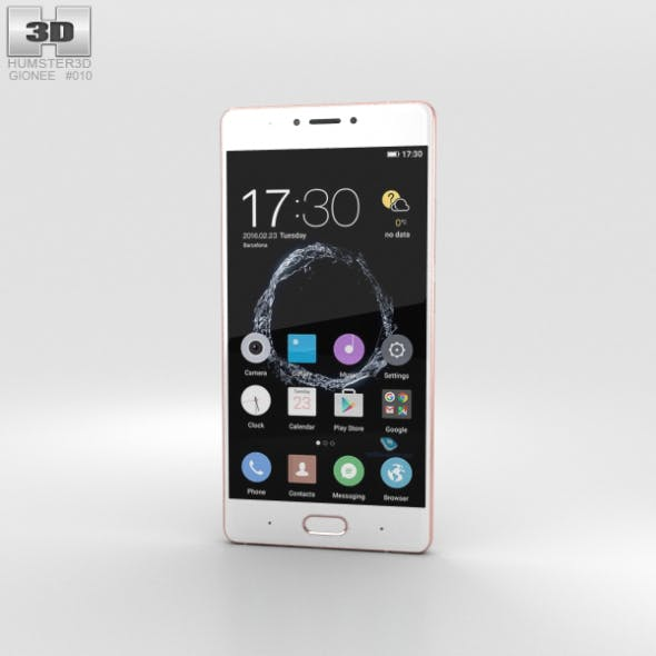 Gionee S8 Rose Gold - 3DOcean Item for Sale