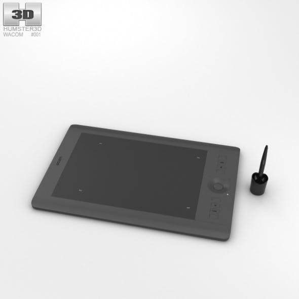 Wacom Intuos Pro Medium - 3DOcean Item for Sale