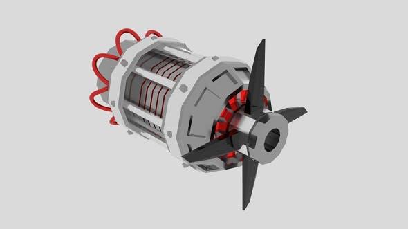 EngineCylinder - 3DOcean Item for Sale