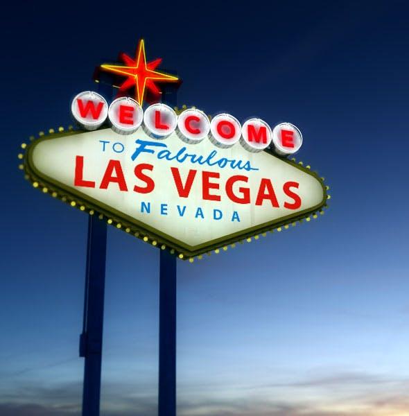 Vegas sign - 3DOcean Item for Sale