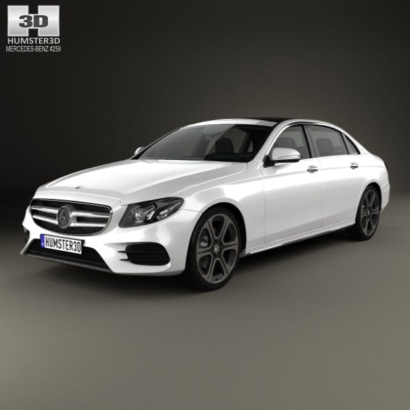 Mercedes-Benz E-Class (V213) L 2017 - 3DOcean Item for Sale
