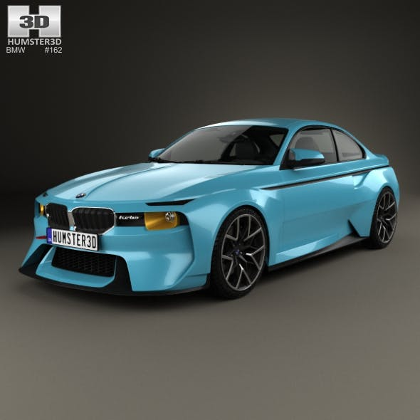 BMW 2002 Hommage 2016 - 3DOcean Item for Sale