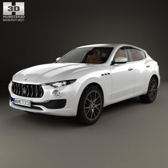 Maserati Levante with HQ interior 2017 - 3DOcean Item for Sale