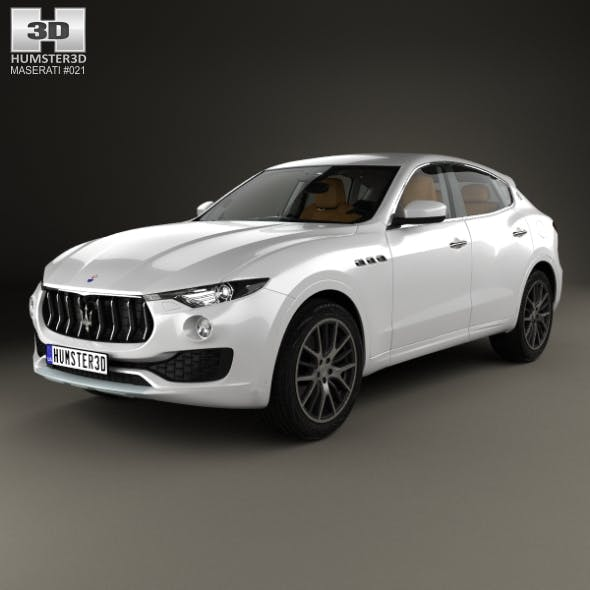Maserati Levante with HQ interior 2017