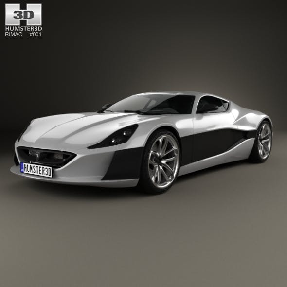 Rimac Concept One 2016 - 3DOcean Item for Sale