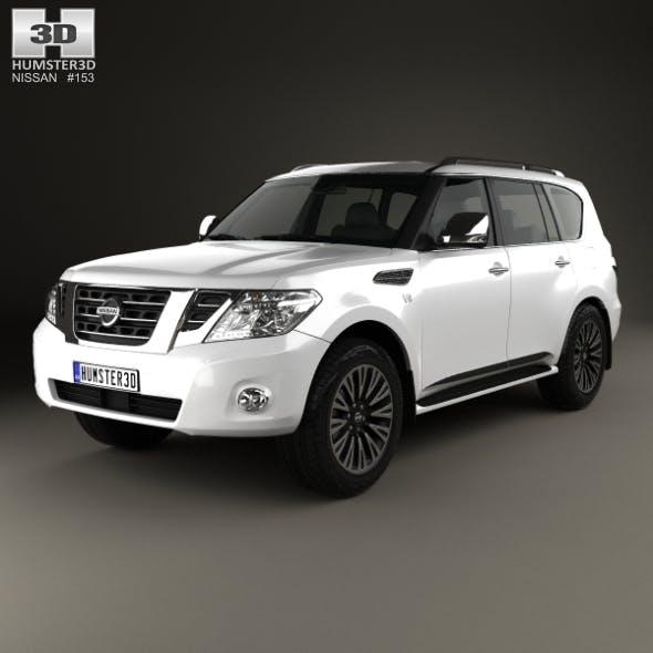 Nissan Patrol (AE) 2014 - 3DOcean Item for Sale
