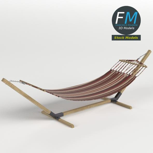 Hammock - 3DOcean Item for Sale