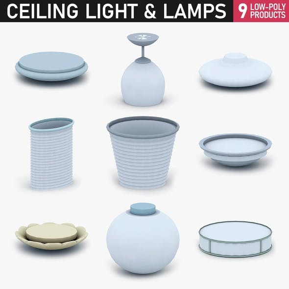 Interior Light Vol 1 - 9 Ceiling Lamps