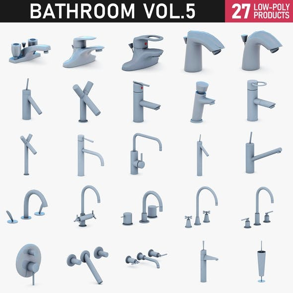 Bathroom Vol 5 - Water Taps