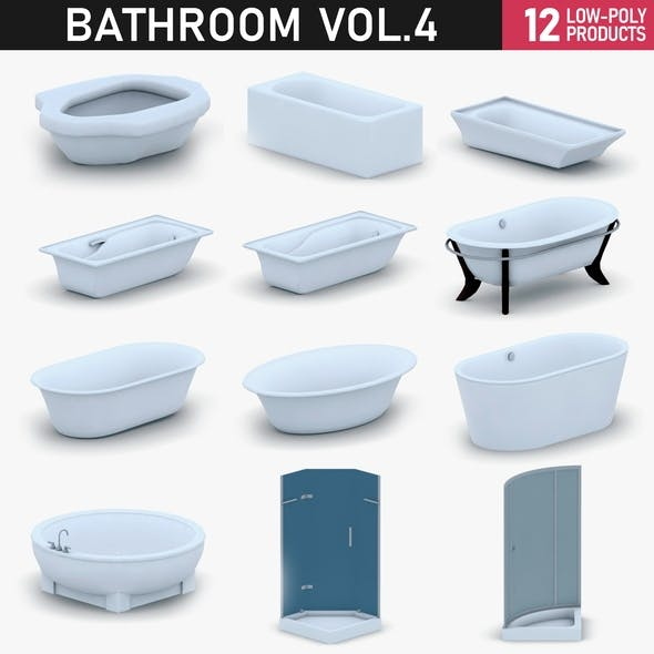 Bathroom Vol 4 - Bathtub and Showers - 3DOcean Item for Sale