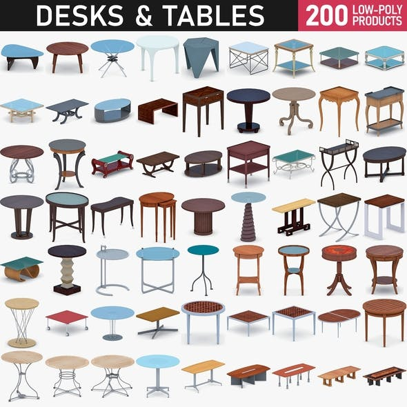 Tables and Desks Collection - 200 Products