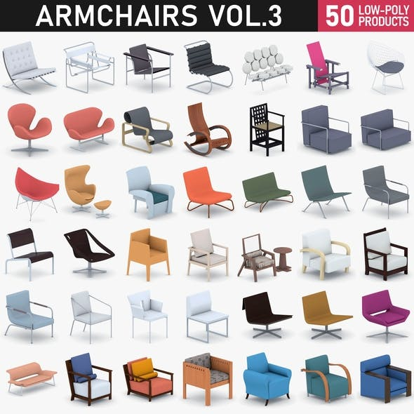 Armchairs Collection Vol 3