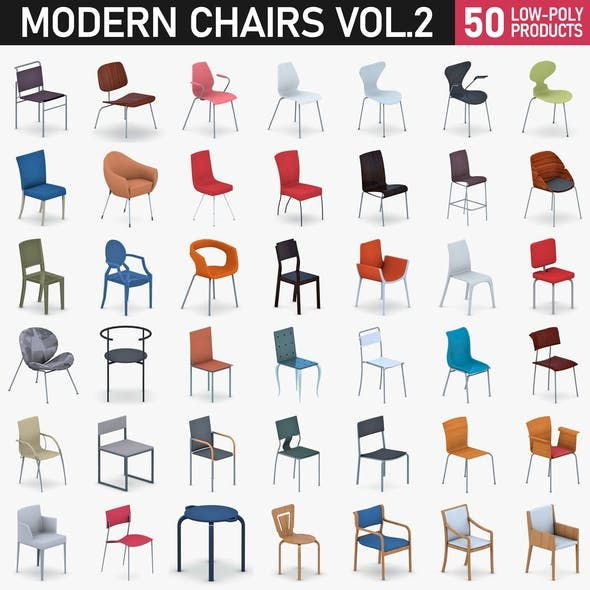 Chairs Collection Vol 2