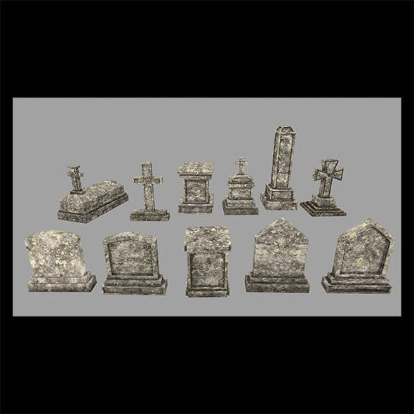 Tombstone_1 - 3DOcean Item for Sale