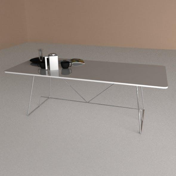 Calligaris Table Duke - 3DOcean Item for Sale