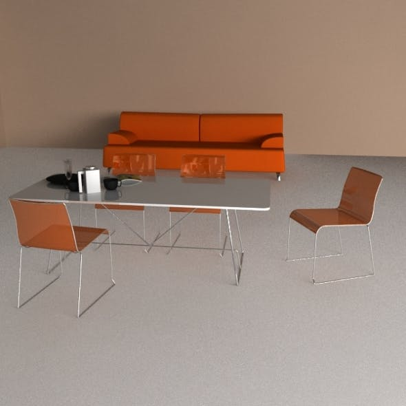 Calligaris Furniture Collection 1 - 3DOcean Item for Sale