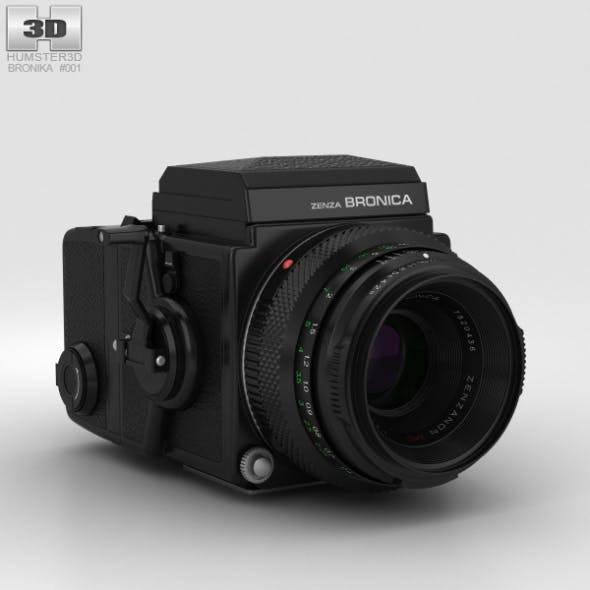 Zenza Bronica ETRS - 3DOcean Item for Sale