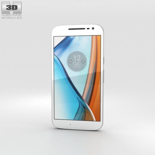 Motorola Moto G4 White - 3DOcean Item for Sale