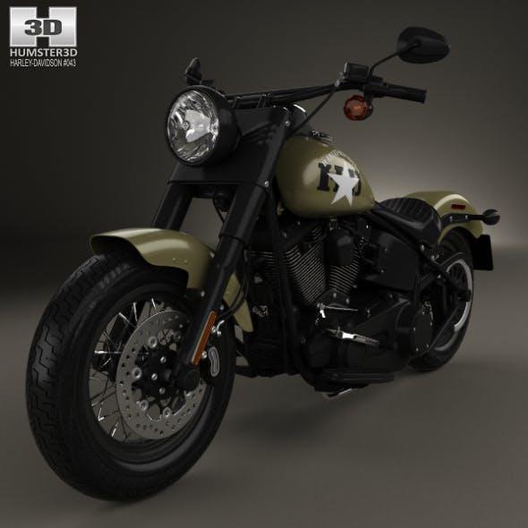 Harley-Davidson Softail Slim 2016 - 3DOcean Item for Sale