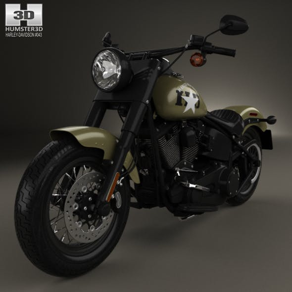Harley-Davidson Softail Slim 2016