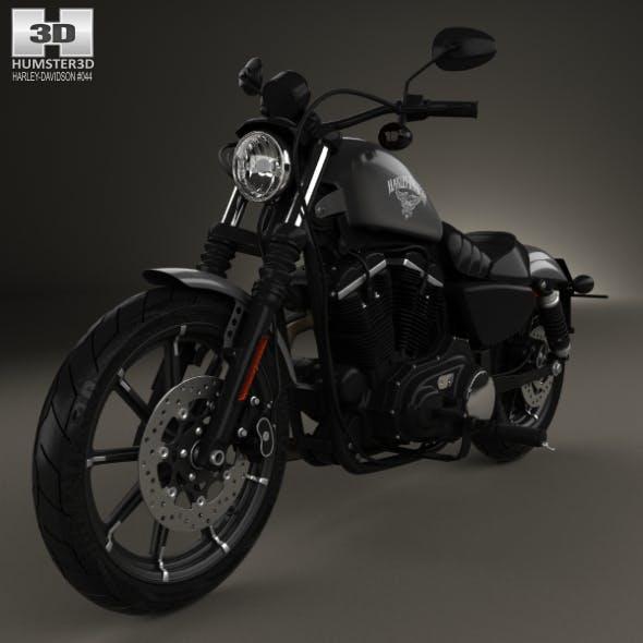 Harley-Davidson Sportster Iron 883 2016 - 3DOcean Item for Sale