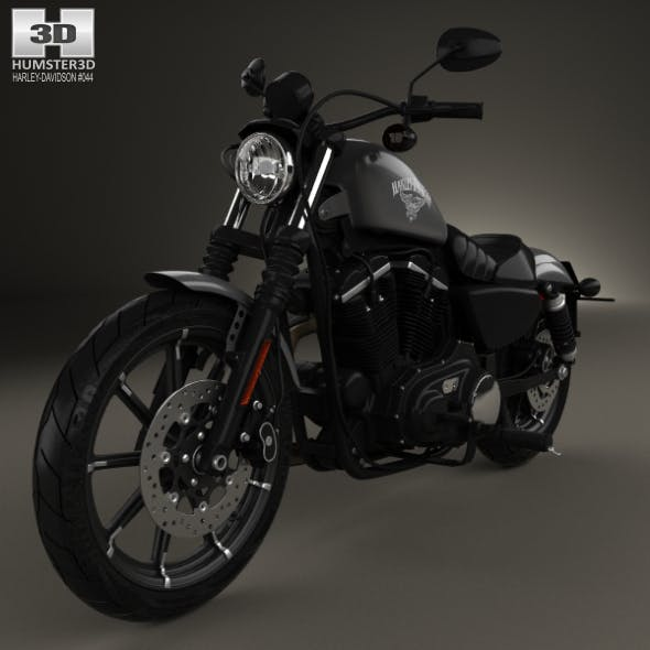 Harley-Davidson Sportster Iron 883 2016