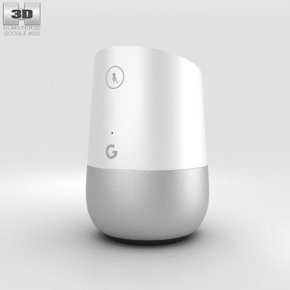 Google Home Speaker - 3DOcean Item for Sale