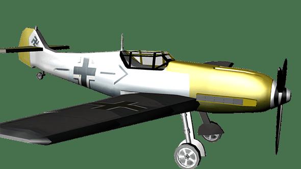 Messerschmitt Bf 109 - 3DOcean Item for Sale